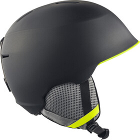 Alpina Maroi Casque Enfant, charcoal-neon matt